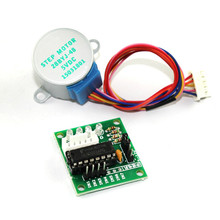 DC 5V Smart Electronics 28BYJ-48 Step Power Supply 5V 4 Phase DC Gear Stepper Motor + ULN2003 Driver Board for arduino DIY Kit power shield power supply board 5v 350ma for arduino aaa 2 battery gm