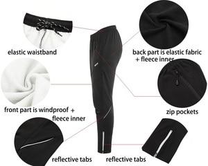 Image 4 - Arsuxeo velo térmico dos homens conjunto jaqueta ciclismo inverno à prova de vento calças de bicicleta mtb camisa ternos roupas 15kk