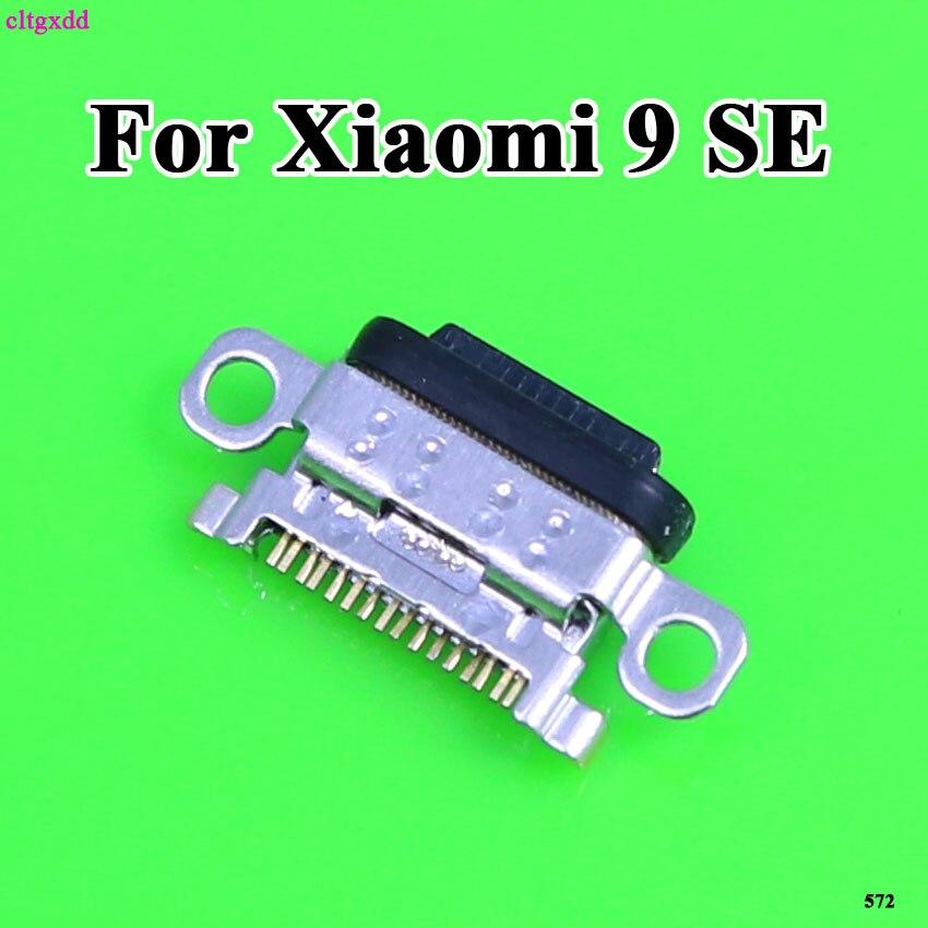 2pcs For Xiaomi Mi9 SE Mi 9 SE USB Charging Port Charger Connector USB Charger Dock Jack Replacement For Xiao Mi Mi9SE Mi9 SE