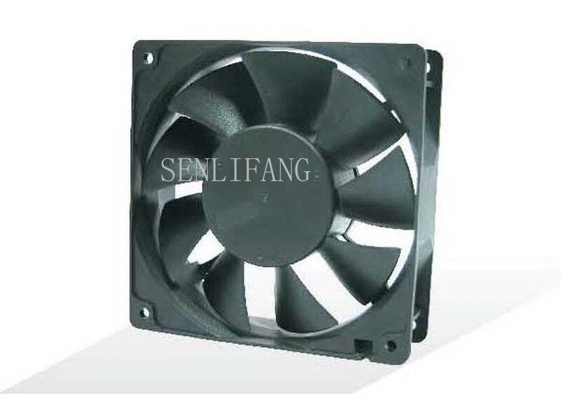 Free Shipping AD1224DB-F9BGP DC 24V 0.3A 120x120x38mm 4-Wire Server Cooler Fan
