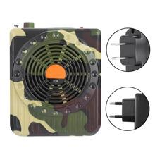 E76 Camouflage Remote Control Outdoor Hunting Decoy Bird Caller Sound Speaker Voice Amplifier For Hunting Accessory