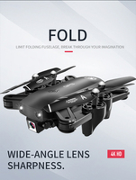 S166 GPS Drone With Camera RC Quadcopter Drones HD 4K WIFI FPV Foldable Off Point Flying Photos Video Dron Helicopter Toy