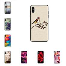 Beautiful Flowers Pink Roses Sakura For Huawei Honor Mate Play V10 View 10 20 20X 30 Lite Pro Y3 Y5 Y9 Nova 3 3i Pro(China)