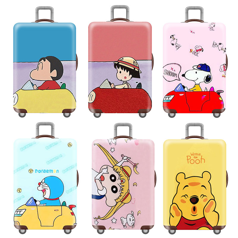 Thicken Travel Luggage Protective Covers Elasticity Luggage Cover Trolley Case Suitcase Cover 18-32 Inch Travel Accessories