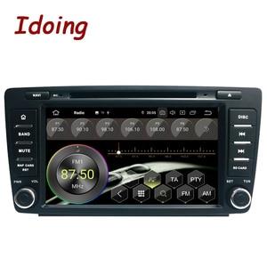 Image 3 - Idoing Android 9,0 4G + 64G Octa Core 2 din DVD Für Skoda Octavia 2 A5 2008 2013 auto Radio Multimedia Video Player Navigation GPS