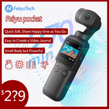 Feiyutech Pocket Sport Camera 4K HD Handheld Gimbal Portable Stabilizer Wifi AI 8x Slow Motion For Vlog Video VS DJI Osmo Pocket(China)