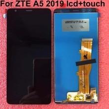 5.45 الأصلي ل ZTE بليد A5 2019 شاشة الكريستال السائل + مجموعة المحولات الرقمية لشاشة تعمل بلمس ل ZTE A5 2019 قطع غيار الهاتف المحمول + أدوات