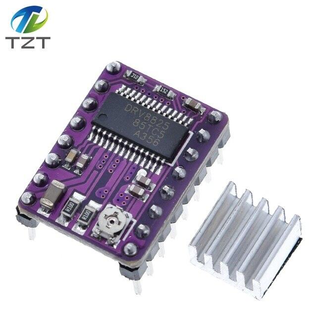 10 ชิ้น/ล็อต 3Dเครื่องพิมพ์StepStick DRV8825 สเต็ปมอเตอร์ไดรฟ์Carrier Reprap 4 ชั้นPCB RAMPS