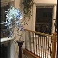 Муранское стекло художественное Рождественское украшение люстра Современные светодиодные люстры  потолочные светильники