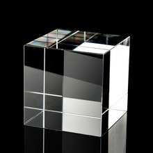 30mm  Crystal Cube Artificial Crystal Creative Photo Prism Xcube Prism