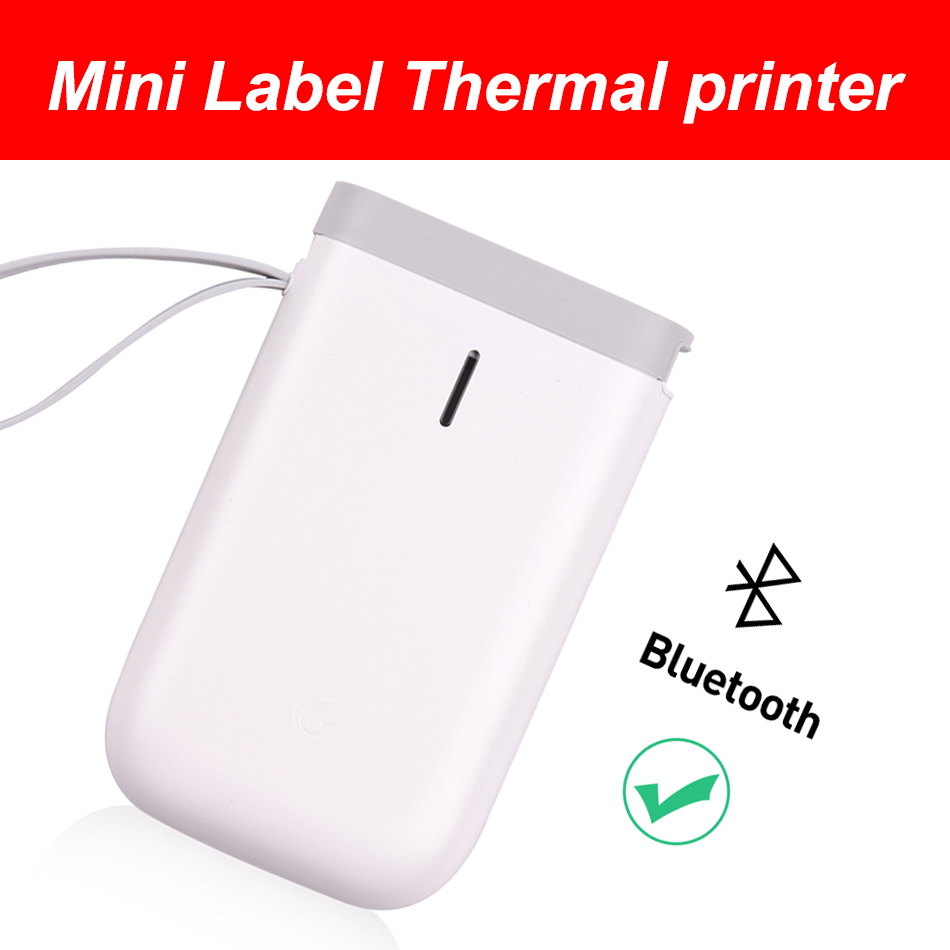 Fast-Printing-Printer Pocket-D11-Label-Printer Office Portable Home-Use BT Wireless title=