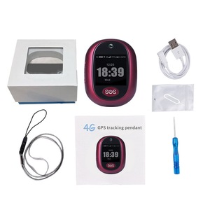 Image 5 - 새로운 실제 4G LTE 개인 GPS 트래커 방수 IP67 스마트 추적 펜던트 건강 관리 양방향 토크 HD 카메라 무료 APP