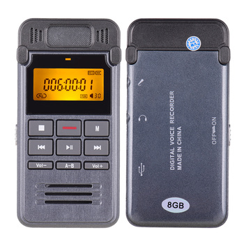 One-Button Recording Voice-Activated Support Recording  4