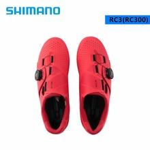 Велосипедные ботинки SHIMANO RC3 RC300, самоблокирующиеся, усиленные стекловолокном, Нейлоновая подошва, для дорожного велосипеда