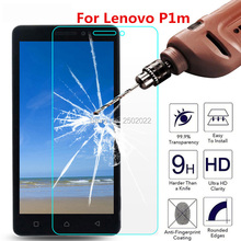 2PCS Tempered Glass For Lenovo Vibe P1m P1mc50 P1ma40 5 inch 2.5D 9H Phone Premium Protective Film