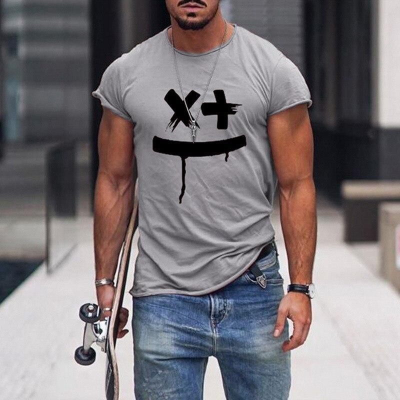 Tshirts Men Smile Print  1