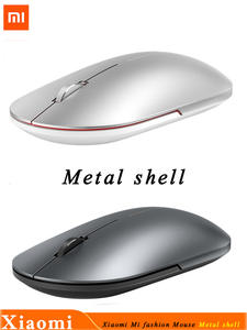 Xiaomi Portable Mouse Wifi Link Bluetooth Metal Mini 1000dpi 2