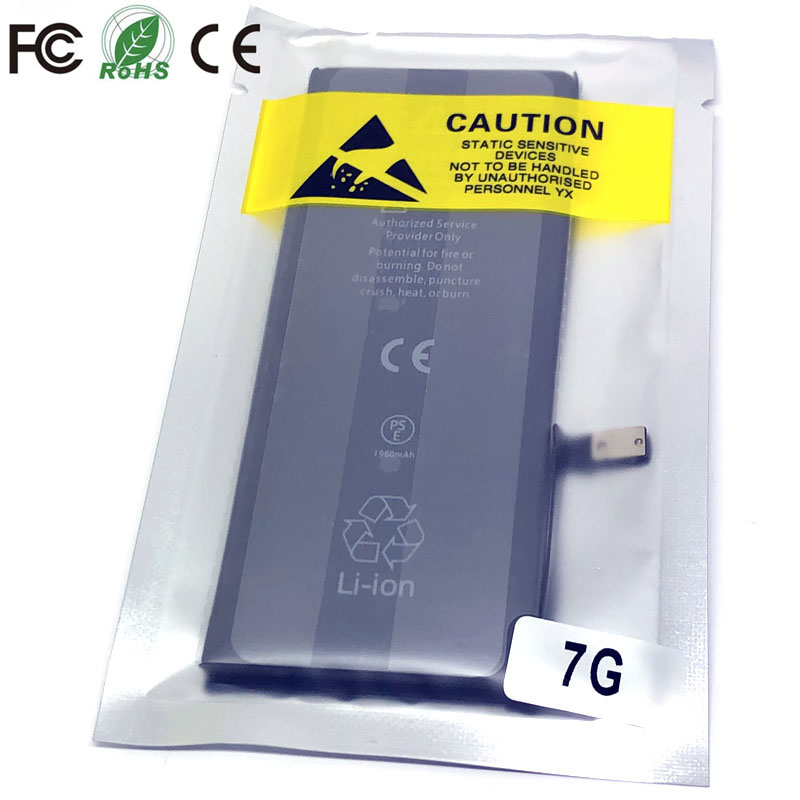 <font><b>7</b></font> new 0 cycle seal <font><b>oem</b></font> high capacity mobile phone <font><b>battery</b></font> pack for apple <font><b>iphone</b></font> <font><b>7</b></font> 7G iphone7 iphone7G <font><b>batteries</b></font> bateria lot image