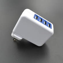 4 USB Ports Mobile Phones Charger EU/US/AU/UK Plug 2.1A Wall Charger Home Wall Fast Adapter 100-240V Replacement Accessories цена