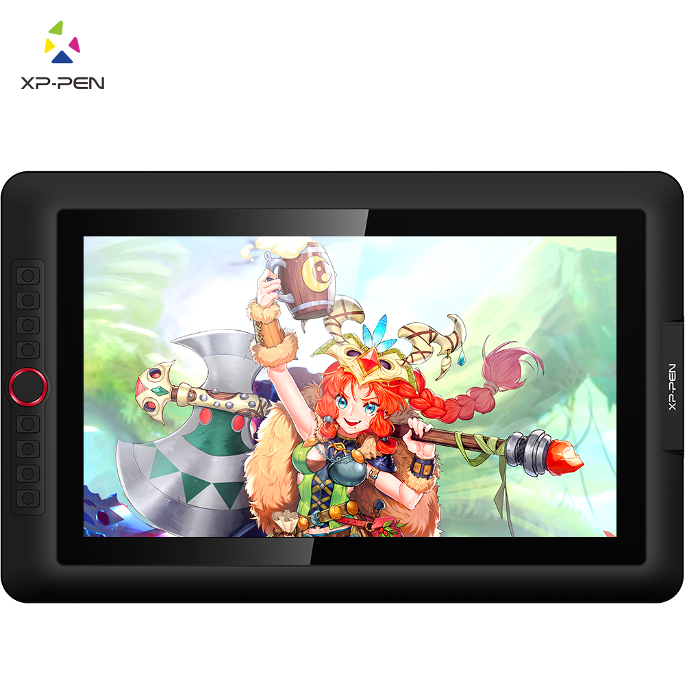 XP-Pen Artist15.6 Pro графический планшет с экраном для рисования Интерактивный дисплей графический монитор цифровой планшет анимационный Рисунок ...