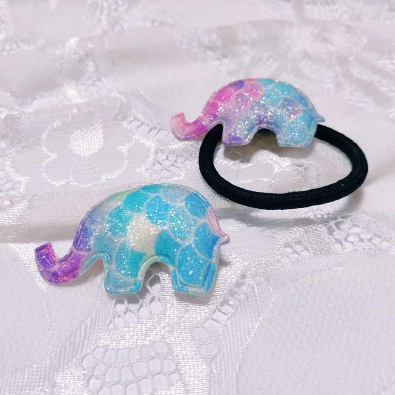 Заколки со слоном в Корейском стиле, Детские радужные BB клипсы, рыбные весы, звезды, клипсы для детей, подарки для девочек на день рождения, Корона