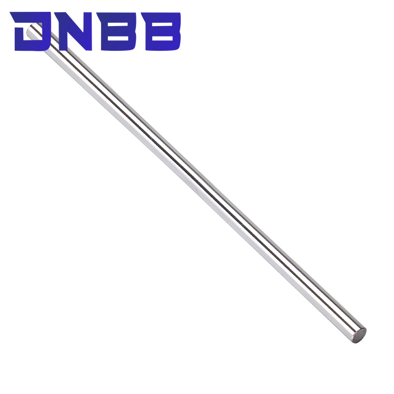 2pcs linear shaft 3d printer parts 3mm linear shaft chrome plated rod shaft CNC parts 100-595mm hardened