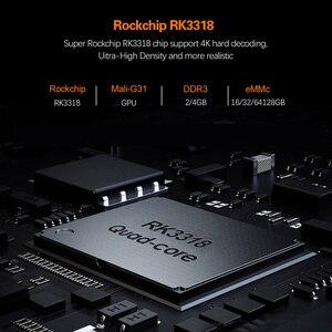 Image 4 - HK1 R1 RBOX TV Box Android 10.0 Rockchip RK3318 USB3.0 1080P H.265 4K Youtube HK1 RBOX Set Top BOX PK T95 TX6S Andriod 9.0