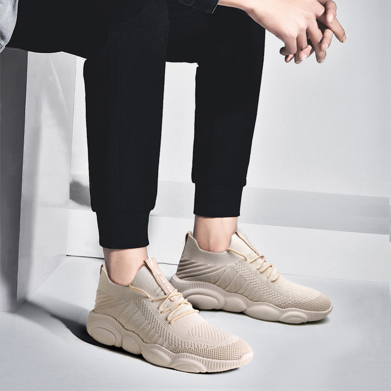SOLI2 2019 Men Casual Fashion Sneakers Breathable Mesh Spring Men Sneakers S2565-2576