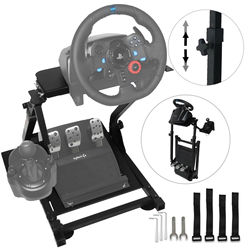 Steering Wheel Bracket for Logitech G25 G27 G29 and G920 Folding Bracket for Steering Wheel Racing Wheel Stand (G29)