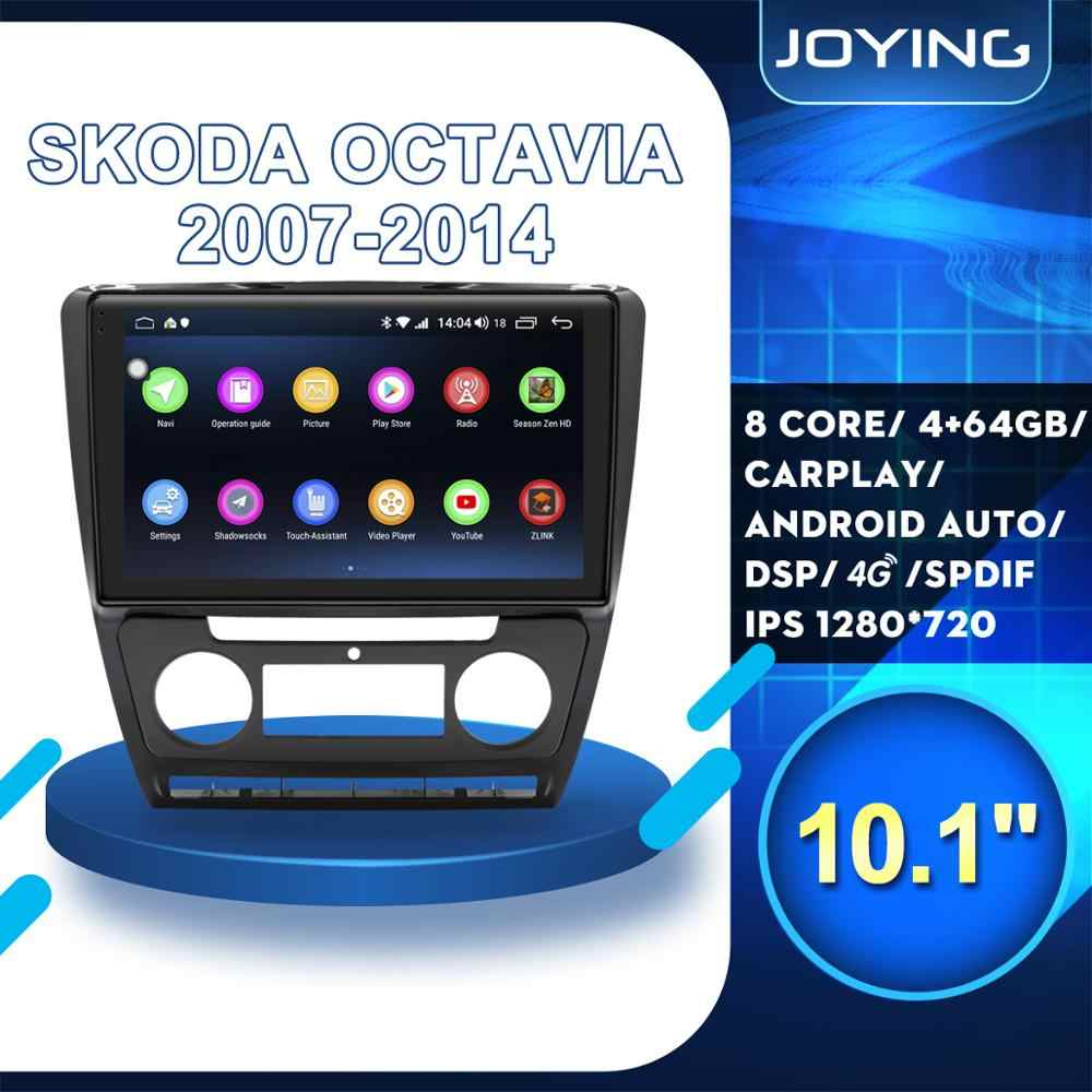 10 Zoll Android10.0 Autoradio Navi GPS USB DSP 2+32G Für Skoda Octavia 2008-2013