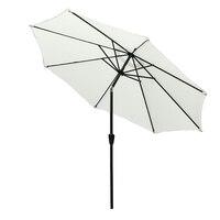 Panana exterior 2.7 m pátio guarda chuva sol tenda chuva abrigo para jardim/quintal/café com capa de chuva livre| |   -