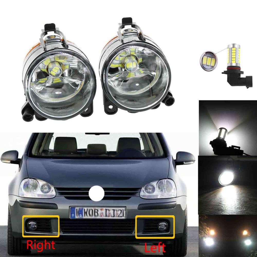 LED Fog Lamp For VW Golf 5 A5 MK5 2004 2005 2006 2007 2008 2009 Car Front LED Fog Light Fog Light
