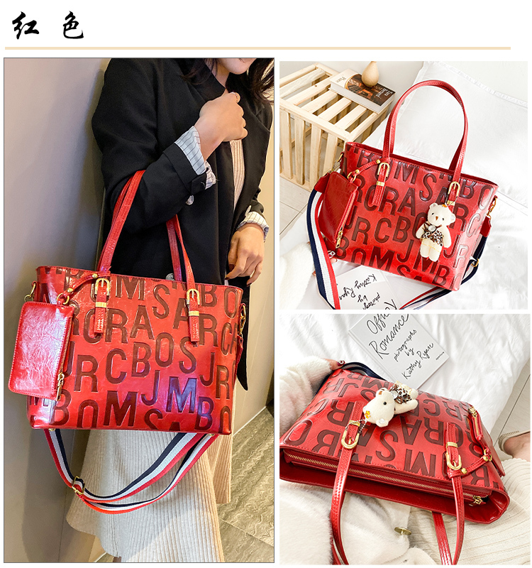 Luxo grande capacidade das mulheres tote sacos