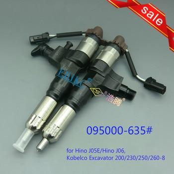 ERIKC 6352 auto engine diesel fuel injector 095000-6352 common rail nozzle injector assemblies VH23670-E0050 23910-1440