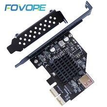 Добавить на карту PCI Express 3,0 USB 3,1 PCI-E карта PCIe USB адаптер Raiser Type-E USB3.1 gen2 10 Гбит/с + USB2.0 карта расширения