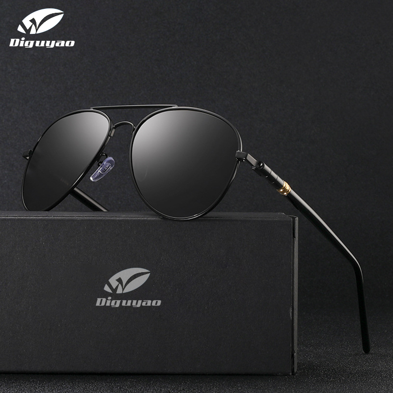 designer sunglasses Men 2019 high quality Polarized Chameleon Glasses Women Change Color Glasses Day Night Driving Eyewear