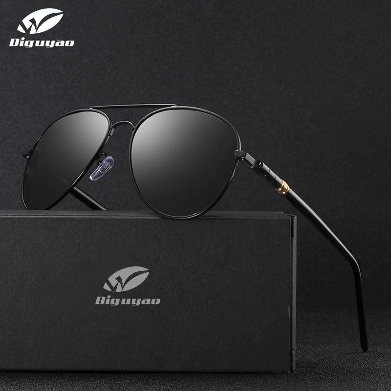 Desainer sunglasses Pria 2019 kualitas tinggi Terpolarisasi Kacamata Wanita Mengubah Warna Kacamata Bunglon Malam Mengemudi Kacamata