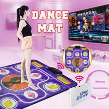 Dancing-Mat Computer TV Remote-Control-1 Party 1-Line And Wireless-Receiver Dual-Use