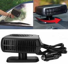 Car Heater Electric Heater Heating Cooling Fan 12V/24V Portable Dryer Windshield Demister Defroster Auto Electric Heater