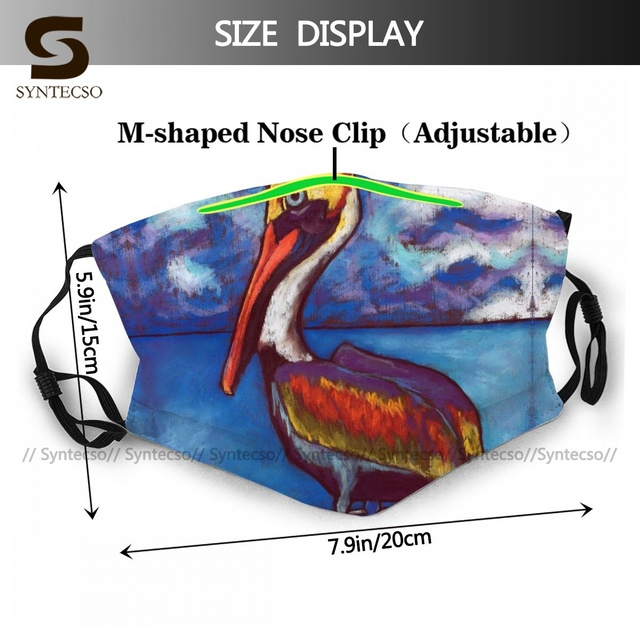 Breathable Adults Rusty Face Mouth Mask Fun Polyester Swag Bike Facial Mask With Filters 1