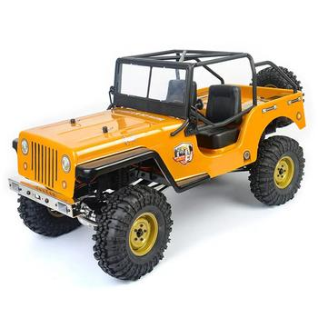 RCtown RGT EX86010-CJ 1/10 2,4G 4WD, camión de escalada, coche a control remoto, modelos de vehículo