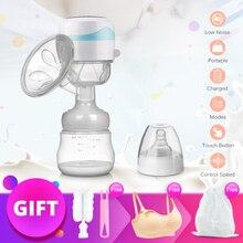 Электрический портативный молокоотсос, интегрированный, легко заряжаемый сцеживатель небольшого объема, постнатальные принадлежности