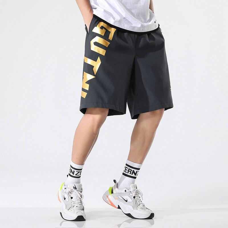 Hip Hop Baggy Shorts Men Streetwear Casual Jogger Shorts Summer Men Short Loose Five Pants