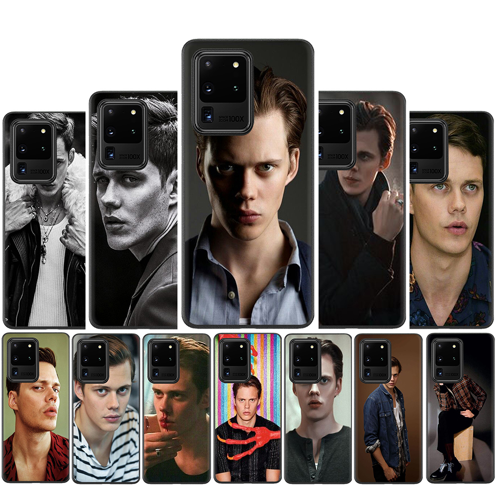 <font><b>Bill</b></font> <font><b>Skarsgard</b></font> Silicone Case for Samsung S10 Note 10 Lite S20 Plus Ultra A01 A11 A21 A41 A51 A71 A81 A91 image