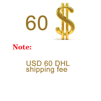 USD 60 DHL shipping fee