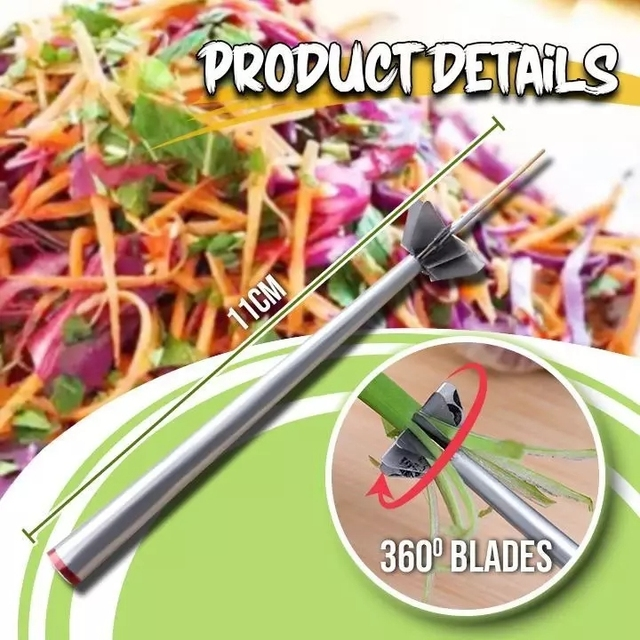Stainless Steel Plum Blossom Onion Cutter  3