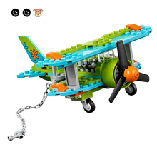 Fit Scooby Doo 75901 Movies Mystery Plane Adventure Set Dog Horse Mini Figures DIY Model Building Blocks Toys For Children Gifts