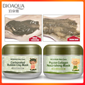 BIOAQUA питательные увлажняющие по уходу за кожей конвеерная машина для розлива газированных пузырь глиняные маски для лица свиной коллаген б...