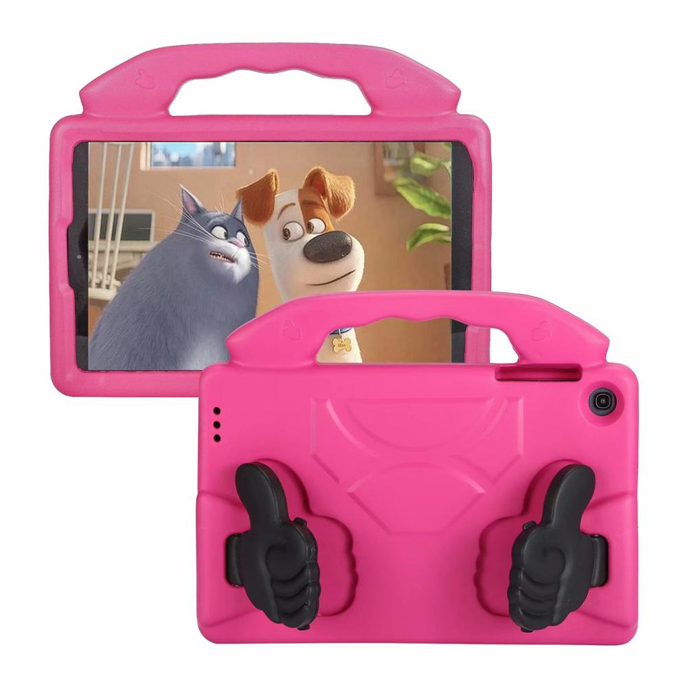 Kids case For Samsung Galaxy Tab A 10.1 2019 T510 T515 tablet hand-held Shock Proof EVA full body cover For SM-T510 SM-T515 image