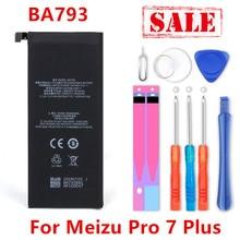 חדש BA793 3510mAh סוללה עבור Meizu Pro 7 בתוספת BA793 M793Q M793M M793H סוללה + מעקב מספר